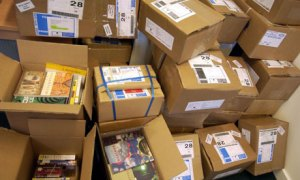 boxes of book