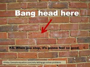Bang-head-on-brick-wall