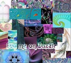 Fractal Collage--Braid water