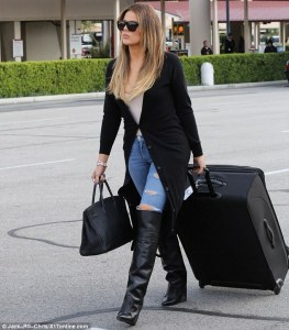 Okay, the woman I'm writing about isn't Khloe Kardashian, but she looks just as good.