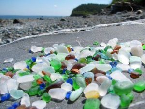 Glass Beach, Port Townsend. [Image credit: Pinterest]