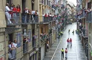 If the people in Pamplona, Spain can do it, so can we! [Image credit: goseewrite.com]