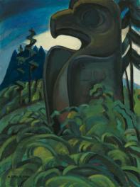 Carr-Eagle Totem-c1930