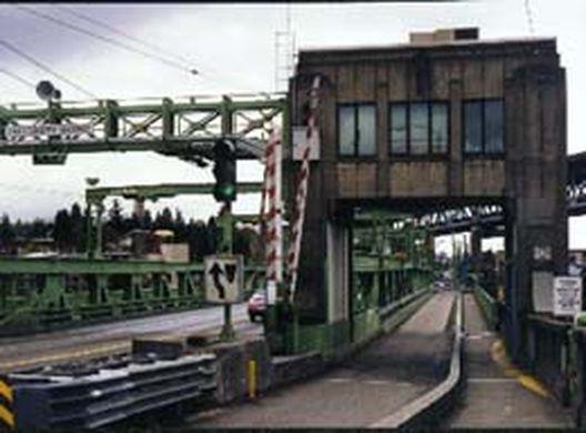 university bridge sidewalk level