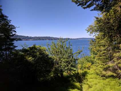 View from Vashon