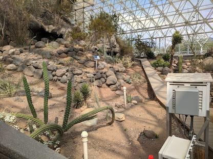 Biosphere 2 Cloud Desert
