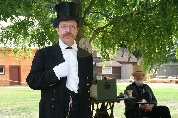 Two Gentlemen of Fort Nisqually