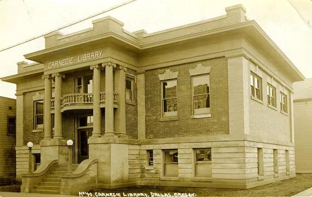 Carnegie Library Dallas Oregon