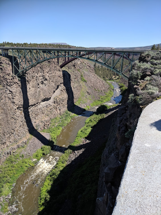 Crooked River and its Bridge