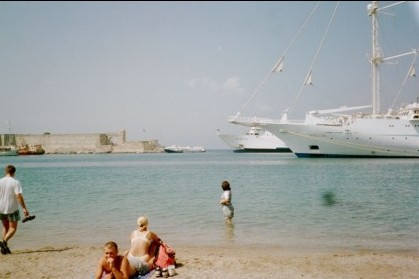 Hydrofoil at Rhodes
