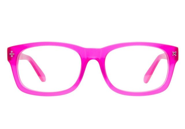 Hot Pink Glasses