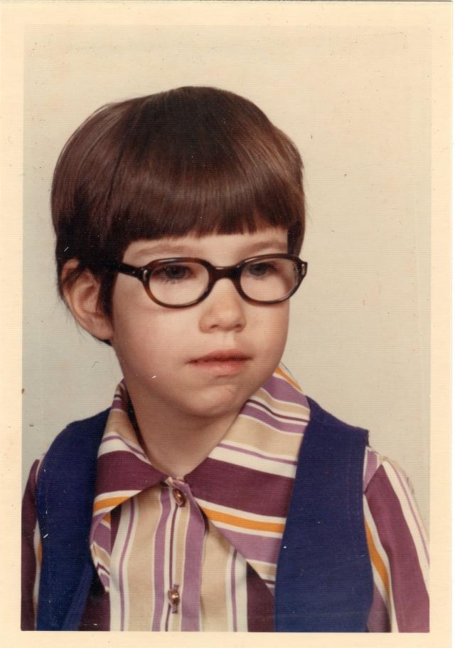 1972 ish School Pic - Barb
