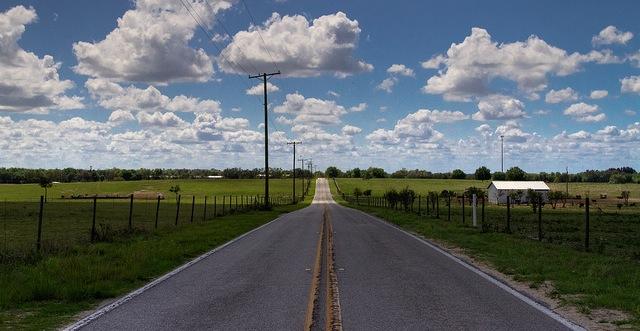Rural Florida Highway