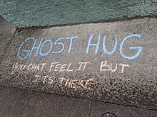 220px-Ghost_Hug_chalk_writing_on_Hawthorne_during_Coronavirus_pandemic