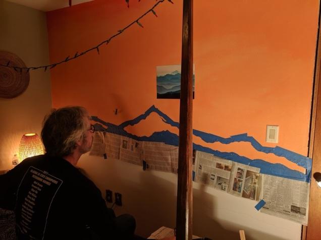 Bedroom wall 2