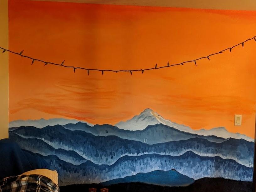 Bedroom wall 6