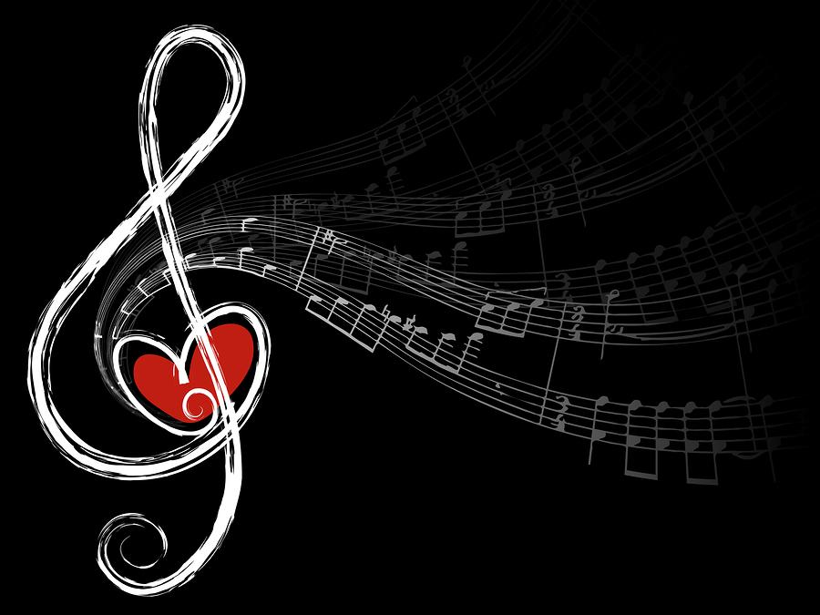 bigstock-Treble-Love-And-Music-Notes-V-2854074