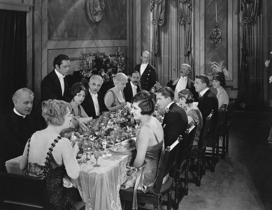 old-fashioned-dinner-party