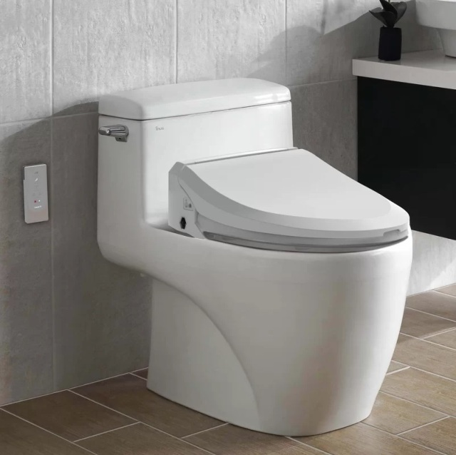 Uspa+Toilet+Elongated+Bidet+Seat